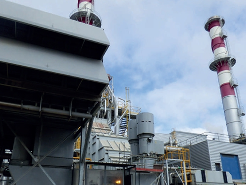 Inspection of fire and gas cogeneration turbines